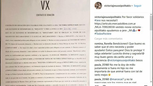 A cuánto vende Vicky Xipolitakis su vestido de novia | MUSA