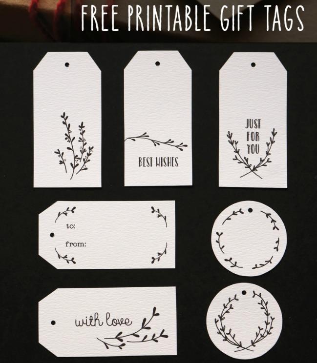 hermosas etiquetas para nombrar tus regalos musa