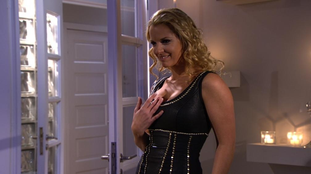 Carina Zampini interpreta a una empresaria decidida y terca en 'Dulce amor'.