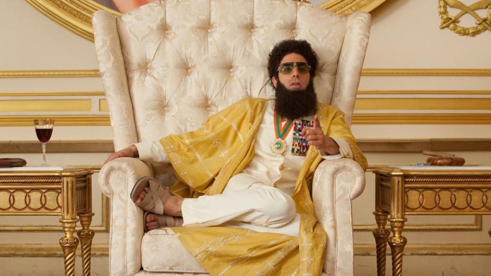 Sacha Baron Cohen interpreta al extravagante Aladeen en 'El dictador'.