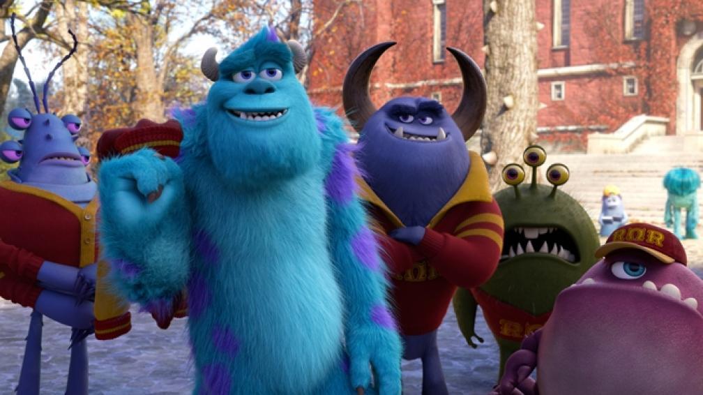 'Mosnters University' es la películas más vista hasta ahora en el país.