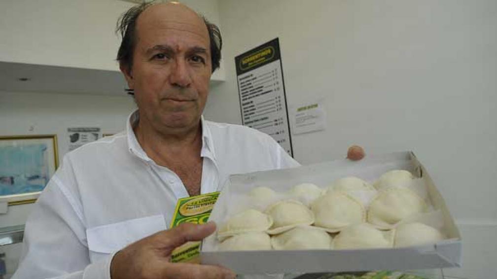 SORRENTINOS. Horacio Pérsico asegura que su familia creó esa pasta.