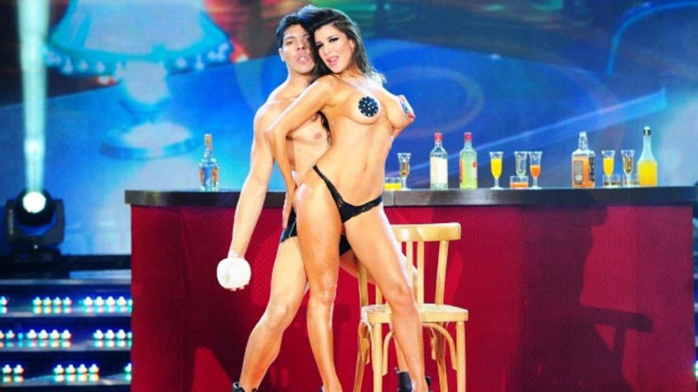 Andrea Rincón y su infartante performance arrabalera.