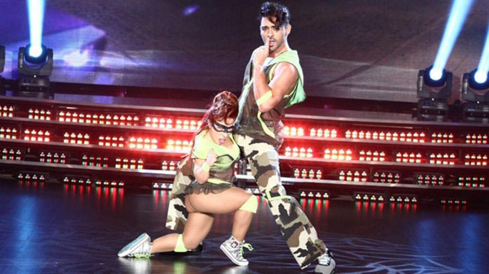 Hernán Piquín y Noelia Pompa recibieron buen puntaje en la gala de reggaeton.