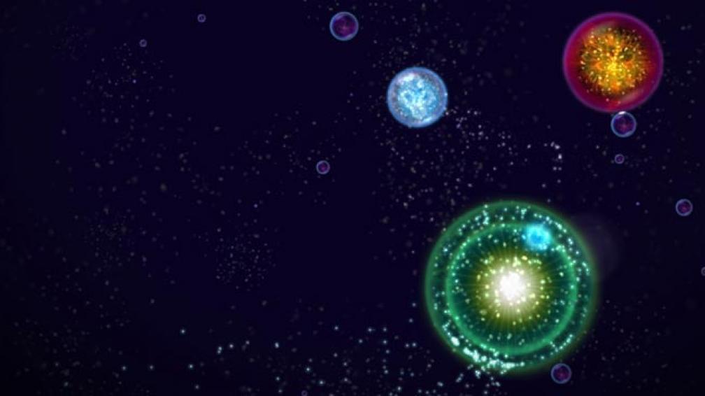 OSMOS. Uno de los juegos más logrados de la plataforma.