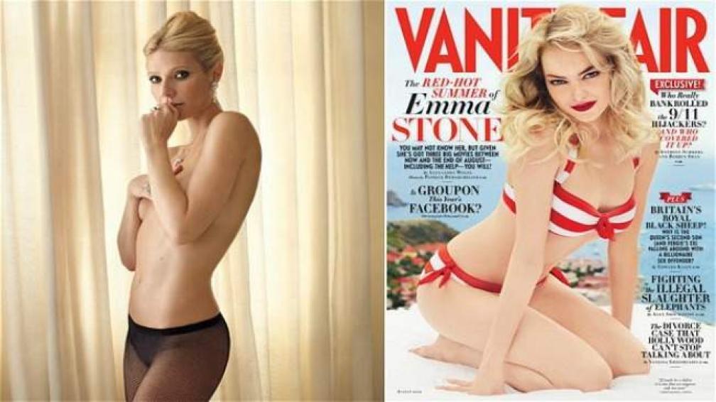 Gwyneth Paltrow Se Desnuda Para Vanity Fair Vos border=