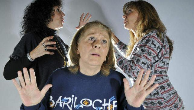 Betty Angelotti, Clidy Suárez y Laura Cikra protagonizan 'Ensalada primavera'.