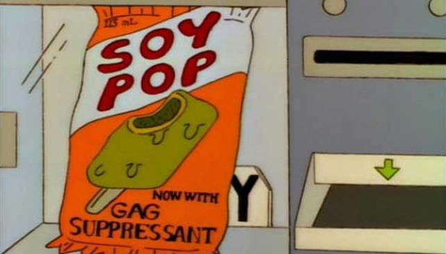 Golosinas de soja. Hoy son bastante habituales, además de los jugos y otros derivados de la leguminosa. Pero en 1995...