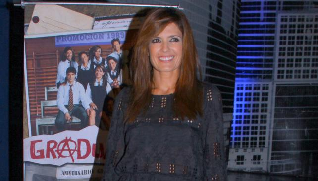 """Isabel Macedo, una de las """"chicas"""" del secundario."""