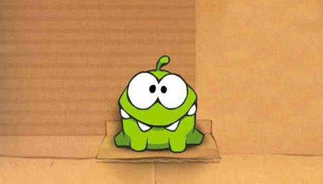CUT THE ROPE. Om Nom es uno de los personajes más adorables del mundo de los videojuegos.