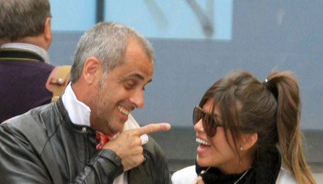 JUNTOS. Jorge Rial y Loly pasean en Venecia. Foto: Ciudad.com.