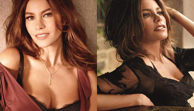 Sofía Vergara, bien sexy para la revista Allure.