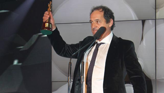 Julio Chávez se llevó el premio al mejor actor de miniserie.