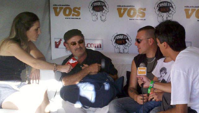 LIVING DE VOS. Reunión cumbre: Germán Daffuncchio y Fer Ruiz Díaz.