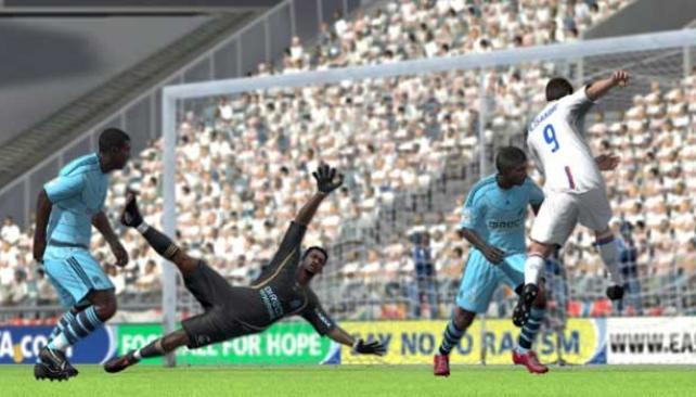 El nuevo FIFA 10.