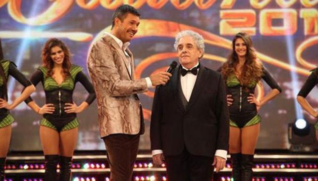 Antonio Gasalla y Marcelo Tinelli le ponen humor a las galas de ShowMatch.