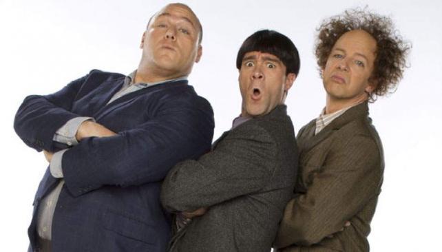 """""""Los tres chiflados"""". El 13 de abril estrena en los Estados Unidos."""
