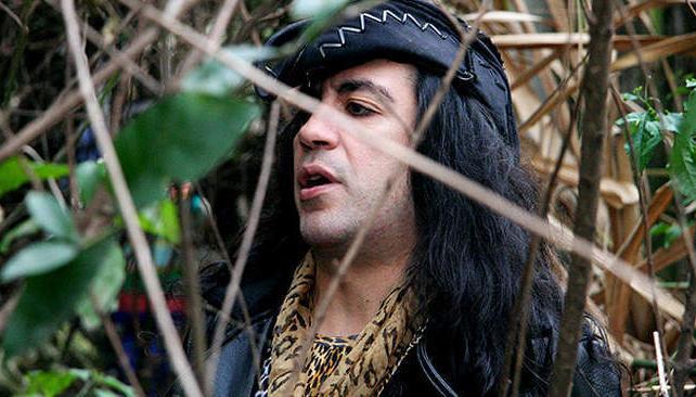 Marcelo Pocavida, un personaje fundamental del punk argentino.