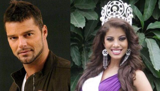 """Ricky Martin calificó de """"ignorante"""" a la Miss Perú Universo, Cindy Mejía."""