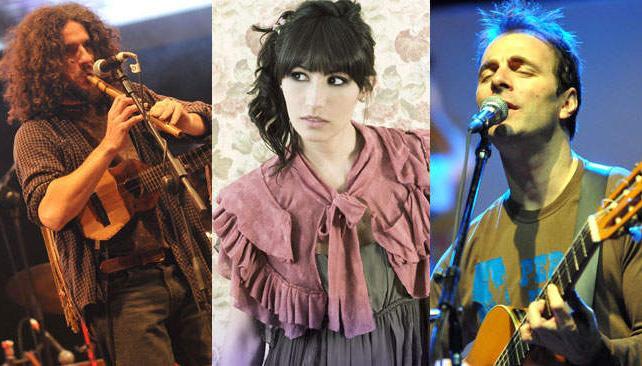Arbolito, Daniela Spalla y Kevin Johansen. Tres propuestas para el finde.