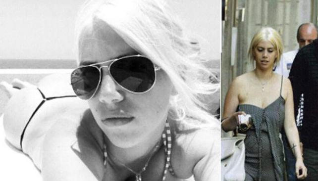 """Wanda Nara remontó el """"descuido"""" que publicó la revista Caras (derecha) mostrando las fotos de sus vacaciones con Maxi López."""