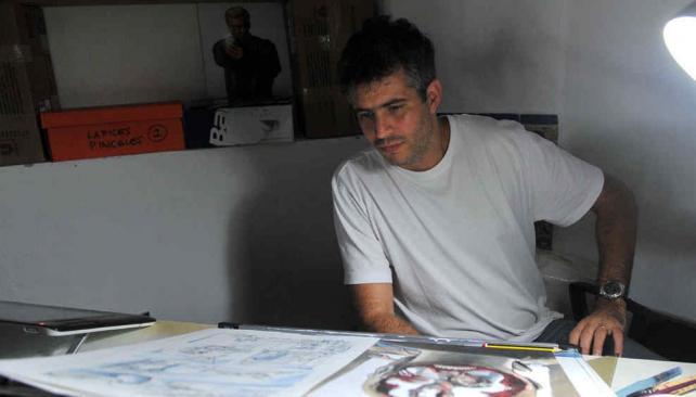 Juan ferreyra el cordob s que dibuja a constantine vos for La voz del interior trabajo