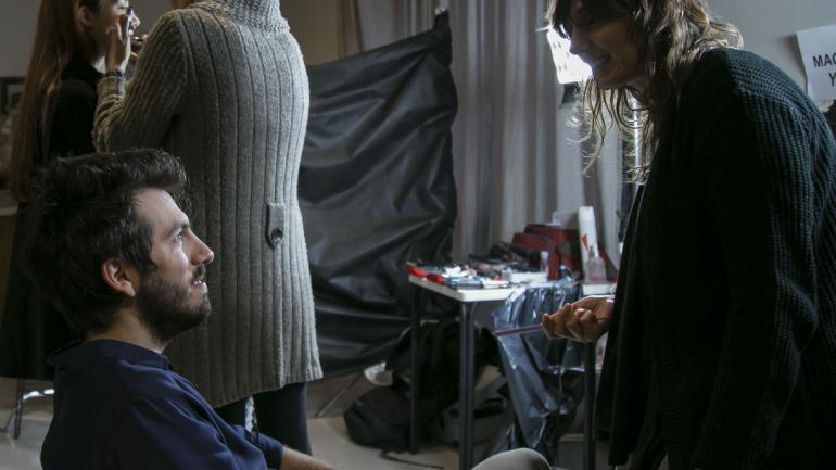 Fotos de backstage, gentileza de Noelia Vidal y Juan Pablo Antún.
