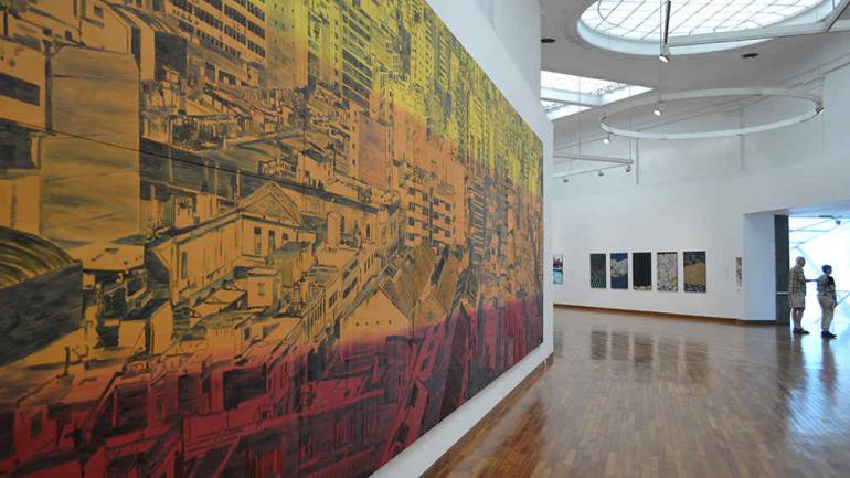 Del tiempo y la ciudad la muestra de marcos acosta en el for Simultaneo contemporaneo